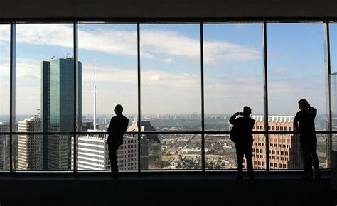 Freedom Tower Observation Deck Height by The Sky Lobby At Houston S Tower Is Now Closed To