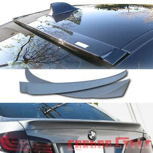 Unpainted ABS BMW F10 A Style Rear Trunk Spoiler Boot ...