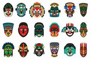 Tribal Ethnic African Mask