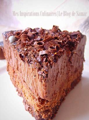 la cuisine de mercotte gateau mousse au chocolat comme un trianon le