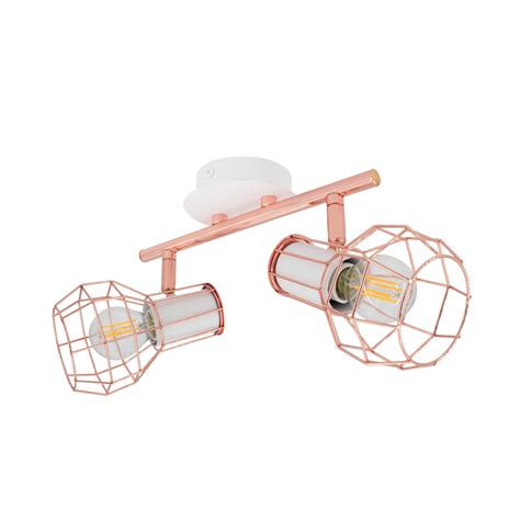 Lada Spot Led by Adjustable Lada Surface Spotlights In White Copper X2