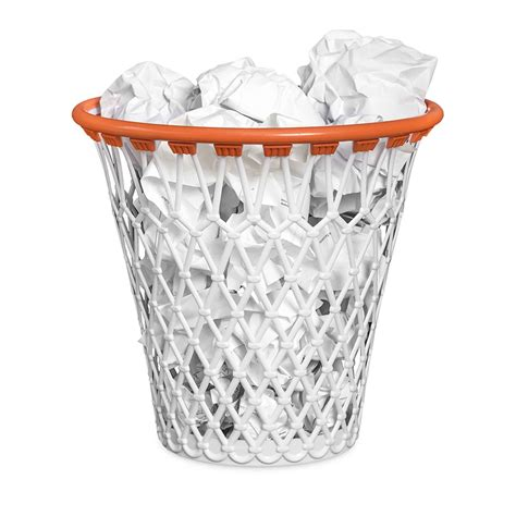 corbeille à papier panier de basket idée cadeau