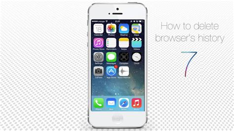 history on iphone how to delete browser search history on iphone and