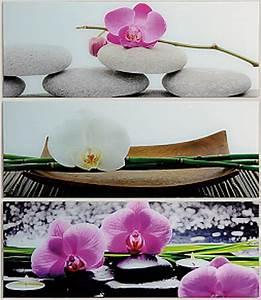 Bilder Feng Shui Steine : wandbild keilrahmen blumen steine feng shui asien bild leinwand orchideen 30x90 ebay ~ Whattoseeinmadrid.com Haus und Dekorationen