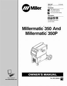Millermatic 35 Parts Diagram