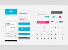 Free Material Design GUI Templates & Icon Sets iDevie