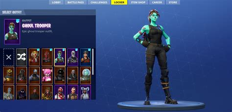 Skull Trooper Ghoul Trooper