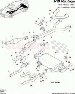 Aston Martin V8 Vantage Exhaust Parts