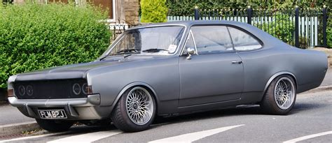 Opel Coupe by 1970 Opel Commodore Coupe