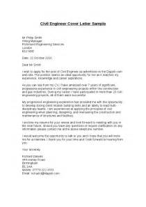 Cover Letter For Civil Engineer Resume by Civil Engineer Cover Letter Sle Hashdoc