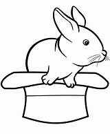Coloring Hat Rabbits Come Coloringsun Sun Purple sketch template