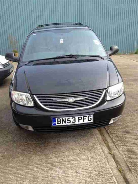 2003 Chrysler Voyager Lx by 2003 Chrysler Voyager Lx Black Car For Sale