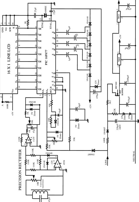 circuit diagram   digital multimeter dmm