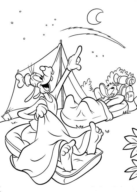 fun coloring pages disney goofy coloring pages