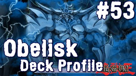 Obelisk The Tormentor Deck Build by Obelisk The Tormentor Deck Tcg April 2014 Yu Gi Oh