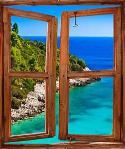 Image Trompe L Oeil : trompe l oeil fenetre resine de protection pour peinture ~ Melissatoandfro.com Idées de Décoration