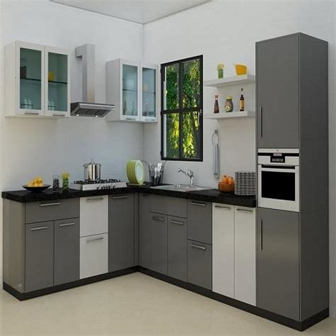 modern multi colour pvc modular kitchen cabinate rs