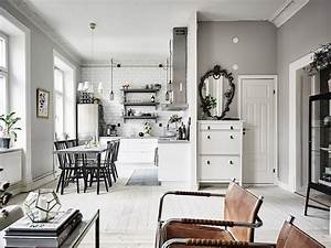 Grey, And, White, Interior, Design, Inspiration, From, Scandinavia