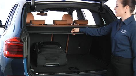 cargo cover removal  storage bmw genius