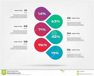 Chart Of Percentage Infographics  Element Of Graph
