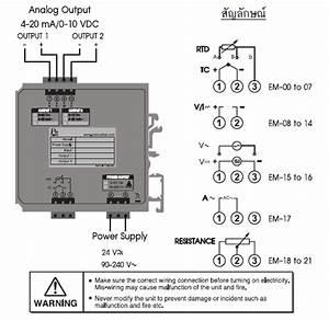 Pt100 Transmitter Rtd Transmitter  Analog Transmitter