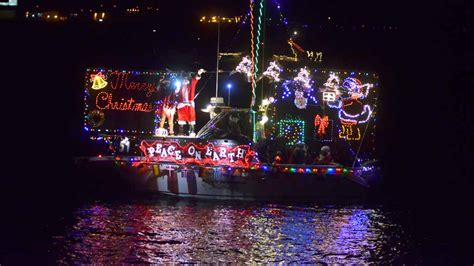 san diego boat parade of lights boat parade eiffel towers light up san diego bay times
