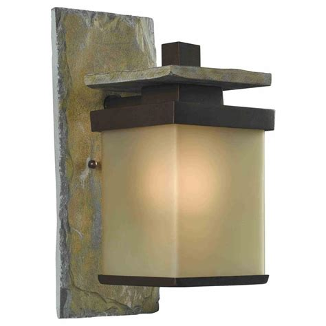 home decorators collection quarry 1 light bronze and