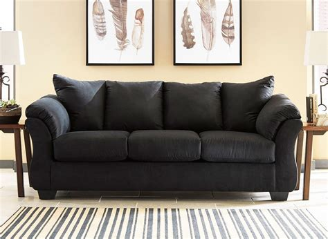Black Sofa Design by Darcy Black Sofa By Signature Design By 1 Review S