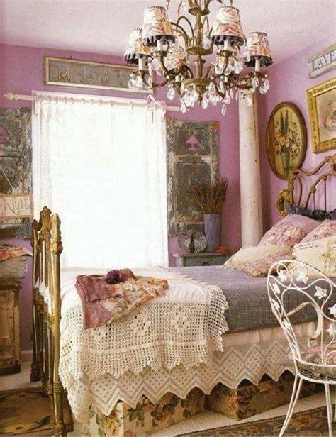 lavendel im schlafzimmer lavendel shabby chic schlafzimmer dekorieren