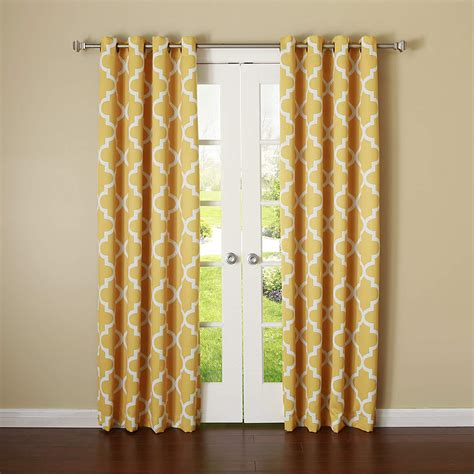 yellow blackout curtains beautiful yellow mustard curtains ease bedding with
