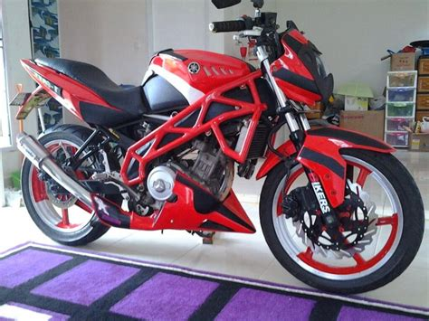 Vixion Modif Fighter by Yamaha Vixion Fighter Touring Yamaha Vixion Modification