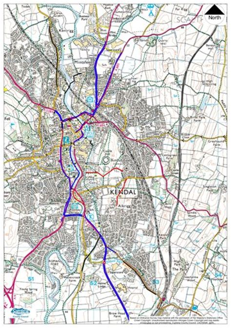 kendal cycle map maplets