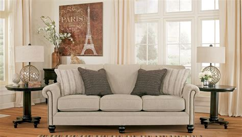 Milari Sofa And Loveseat by Milari Linen Sofa 1300038 Furniture