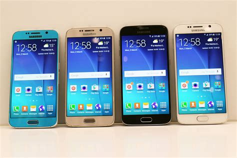 samsung galaxy s6 color comparison