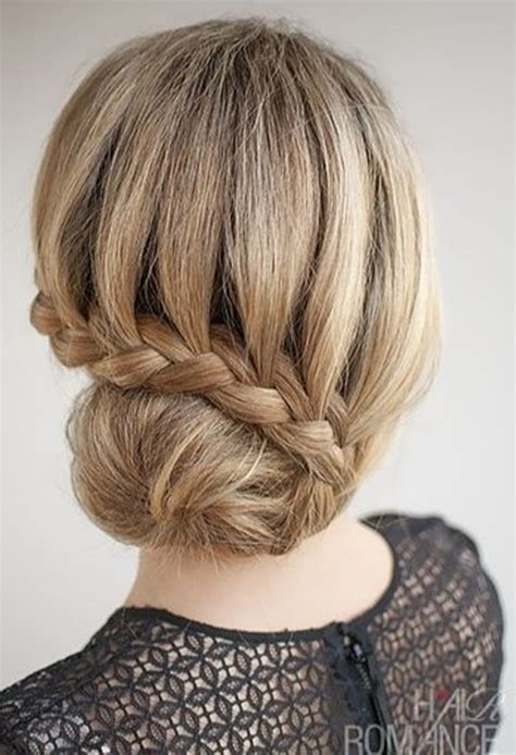attractive party hairstyles  girls