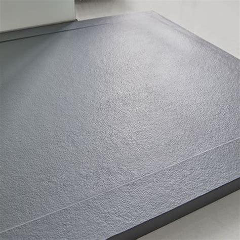 piatto doccia bordo alto piatto doccia in pietra solidstone alto 2 8 cm con bordo