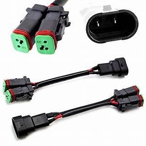 Tomall Deutsch Dt Dtp 2 Pin Female Socket Adapter For Led