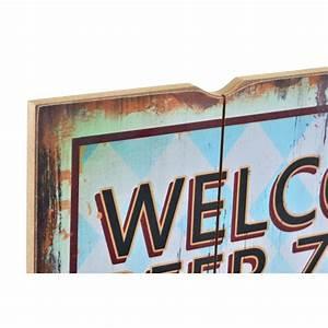 Deco Murale Vintage : d co murale vintage bois bi re warning beer zonz h 60 cm ~ Melissatoandfro.com Idées de Décoration