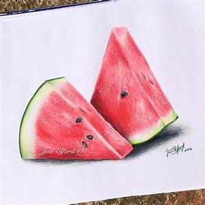 25+ bästa Watermelon drawing idéerna på Pinterest | Tumblr ...