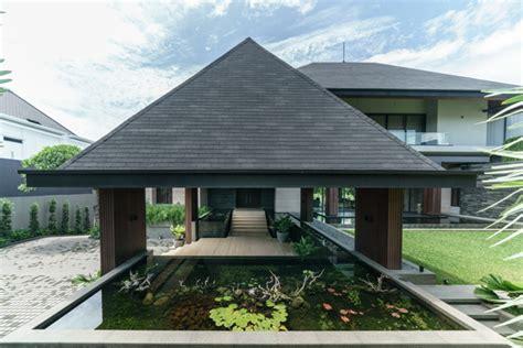 desain rumah modern tropis  sejuk  inspirasinya