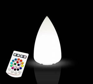 Reglette Led Sans Fil : lampe de table led conique h33 cm sans fil rechargeable 39 ~ Edinachiropracticcenter.com Idées de Décoration