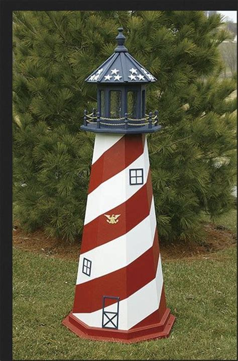 amish outdoor lighthouse     foot handcrafted