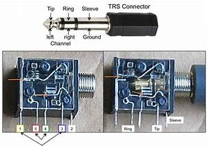 Wiring Diagram For 3 5 Mm Female Stereo Plugs