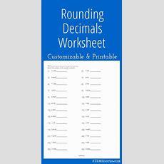 Best 25+ Rounding Decimals Worksheet Ideas On Pinterest  Rounding Decimals, Rounding Numbers