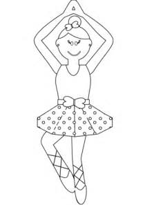 cartoon ballerina coloring page  printable coloring pages