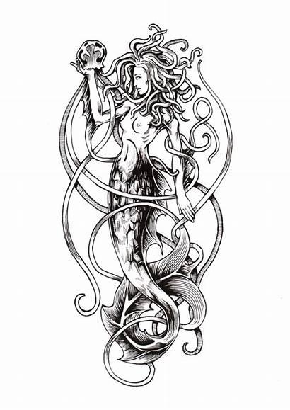 Greek Mythology Sirens Tattoo Tattoos Mermaid Medusa