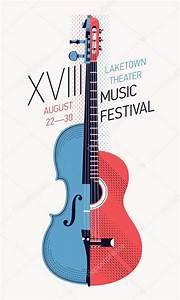 Music festival poster — Stock Vector © masha_tace #79018392