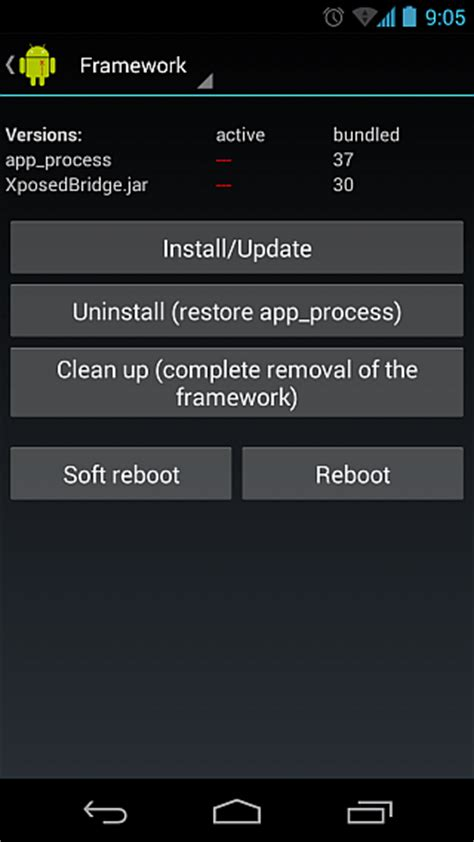 xposed installer android how to install xposed framework in android 2 methods