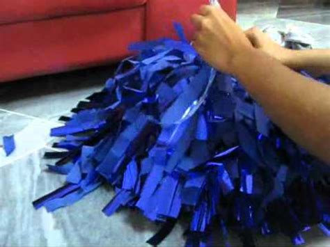 ur cheer poms blue house people youtube