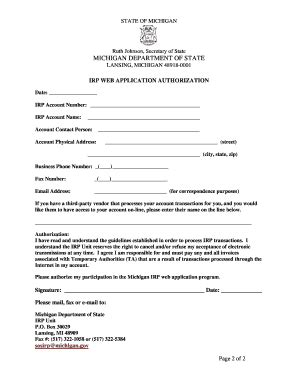irp online form irp login fill online printable fillable blank